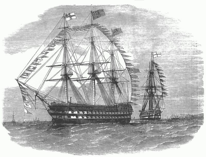 "The Pivot-ships ""Rodney"" and ""London"""
