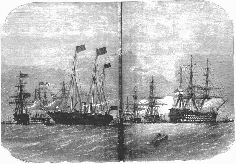 The Fleet rounding the Pivot-Ships, the Nab, Portsmouth